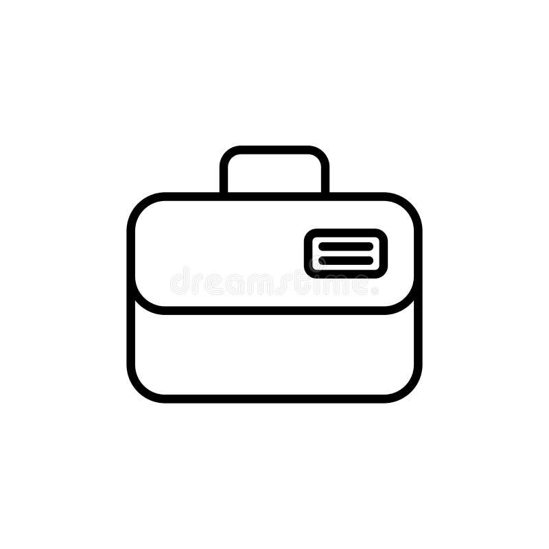Ambulance case vector icon. vector illustration
