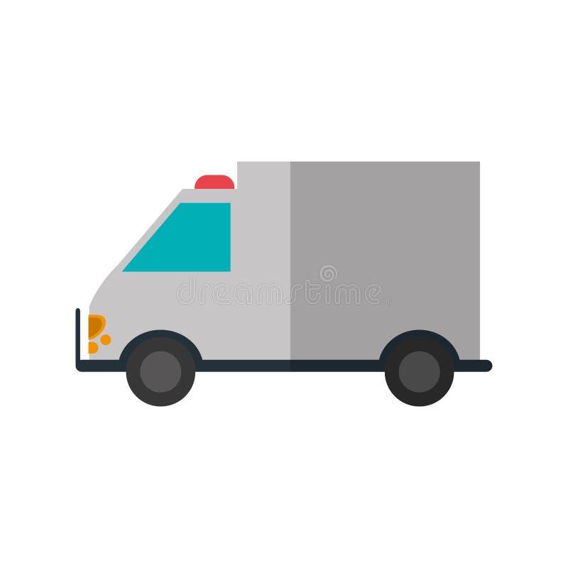 Ambulance de conception de soins médicaux illustration stock