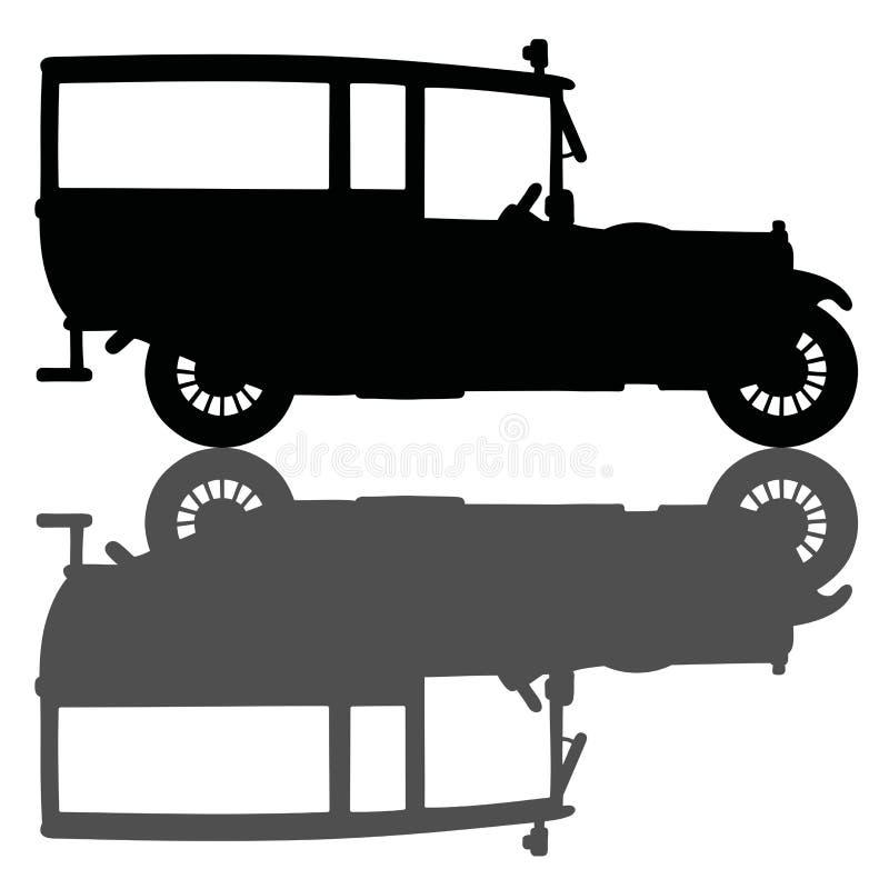 Ambulance de vintage illustration libre de droits
