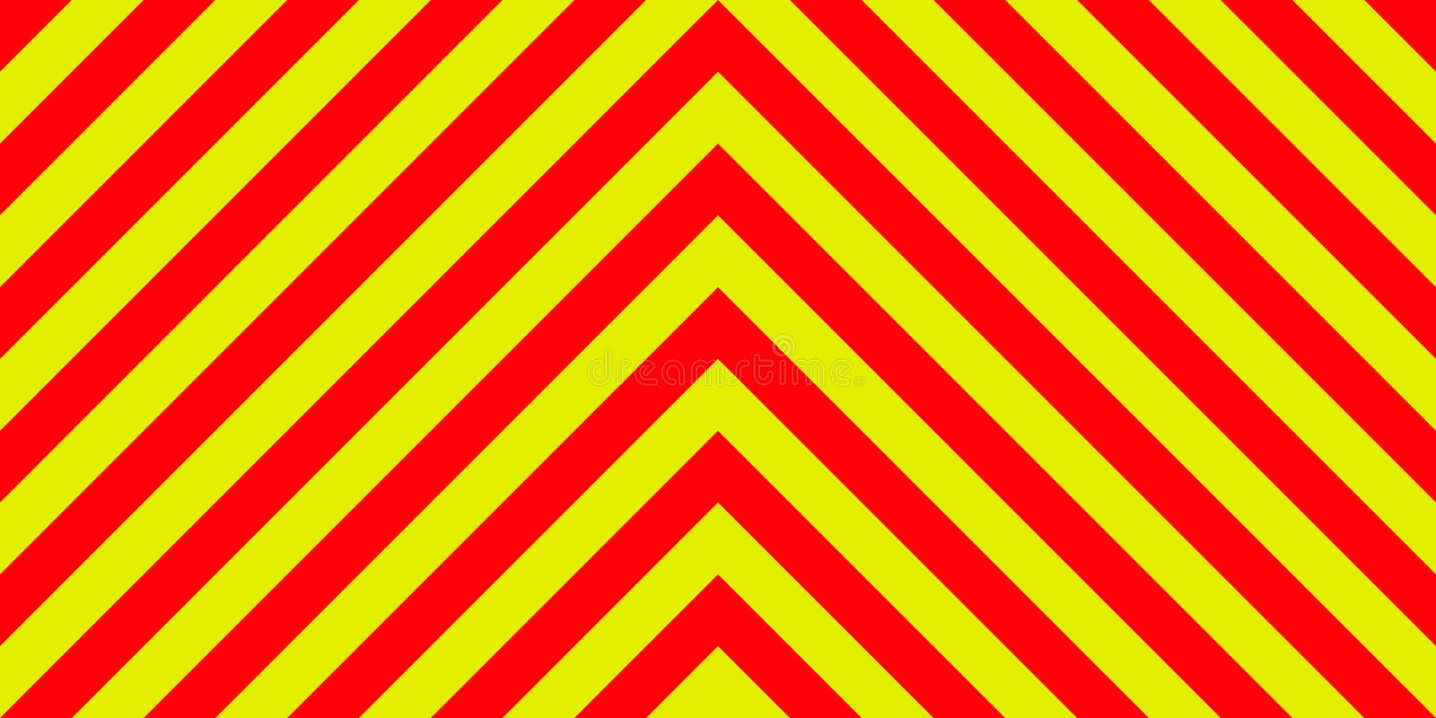 Ambulance emergency background sign yellow and red stripes diagonally, ambulance emergency diagonal stripes. Ambulance emergency sign background yellow and red vector illustration
