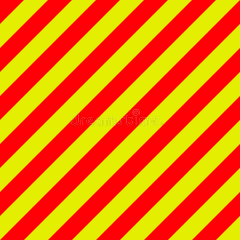 Ambulance emergency background yellow and red stripes diagonally, ambulance emergency diagonal stripes, a warning traffic safety. Ambulance emergency background vector illustration