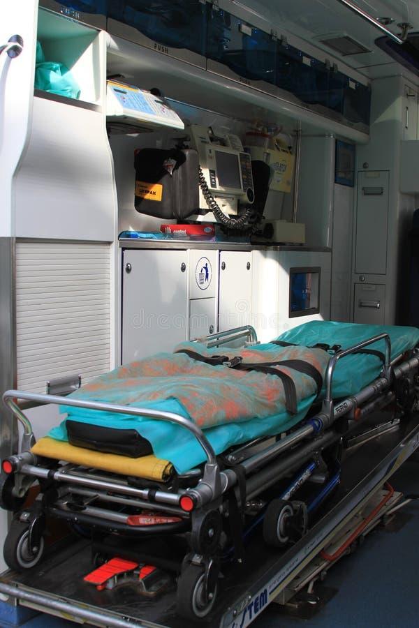 Ambulance intérieure photos libres de droits