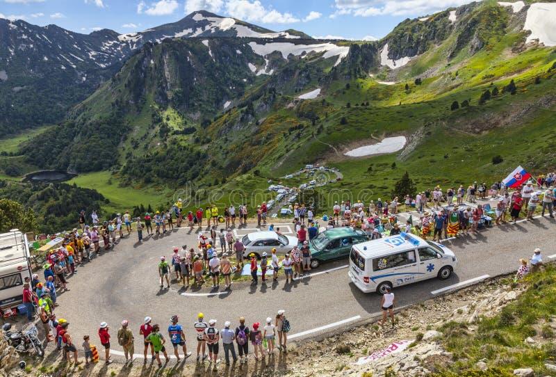 Download Ambulance Of Le Tour De France Editorial Stock Image - Image: 33027404