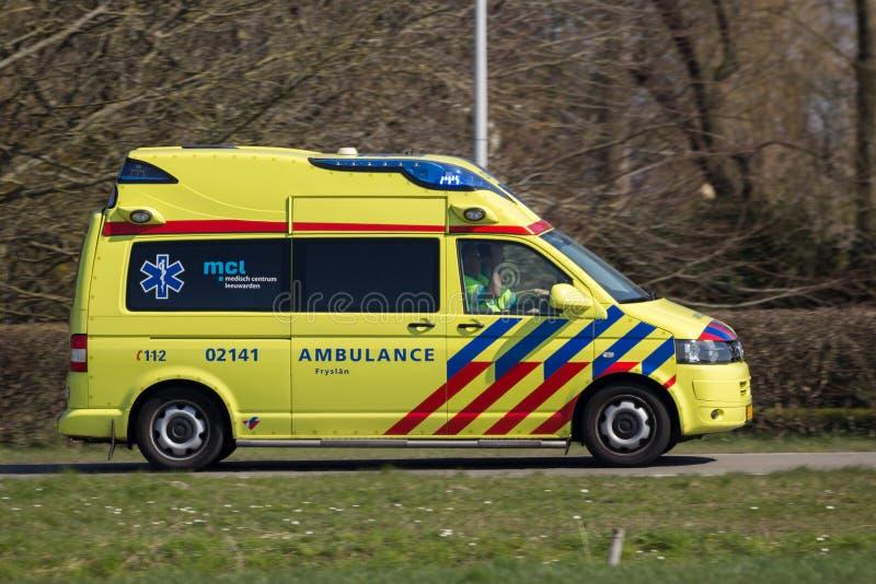 Ambulance néerlandaise photos stock