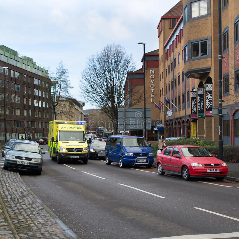 Ambulance Rescue Editorial Stock Photo
