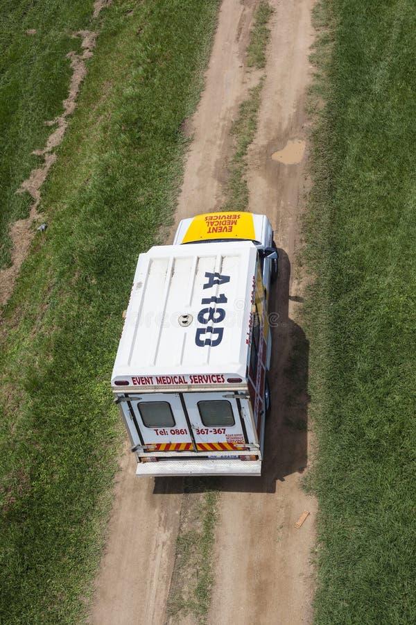 Ambulance Vehicle Below