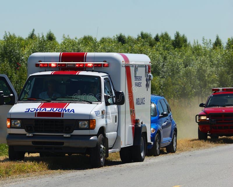Ambulancia imagen de archivo libre de regalías