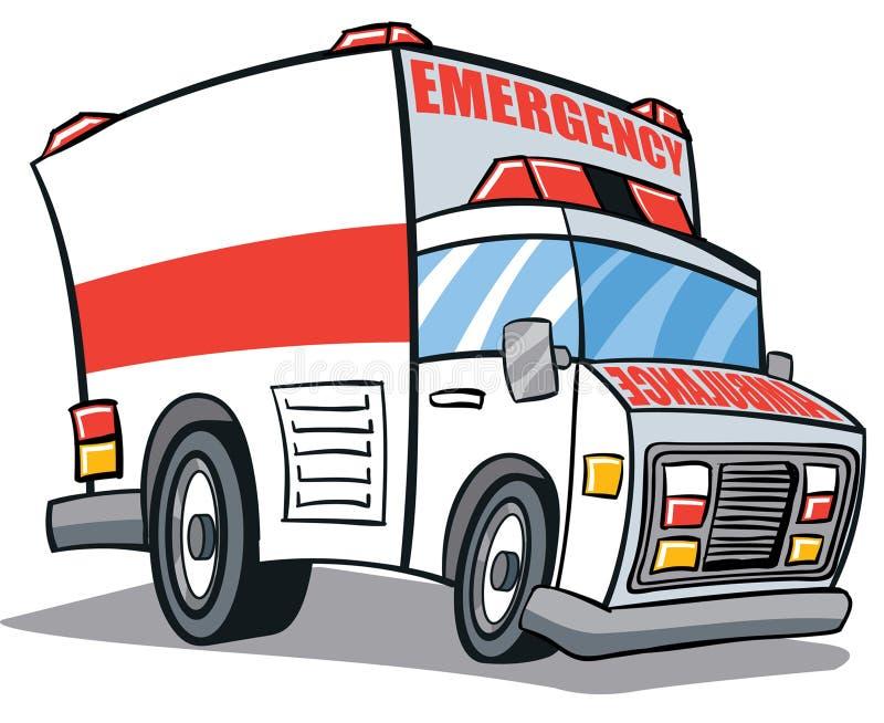 Ambulancia stock de ilustración