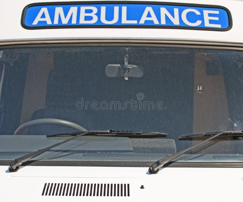 Ambulancia clásica imágenes de archivo libres de regalías