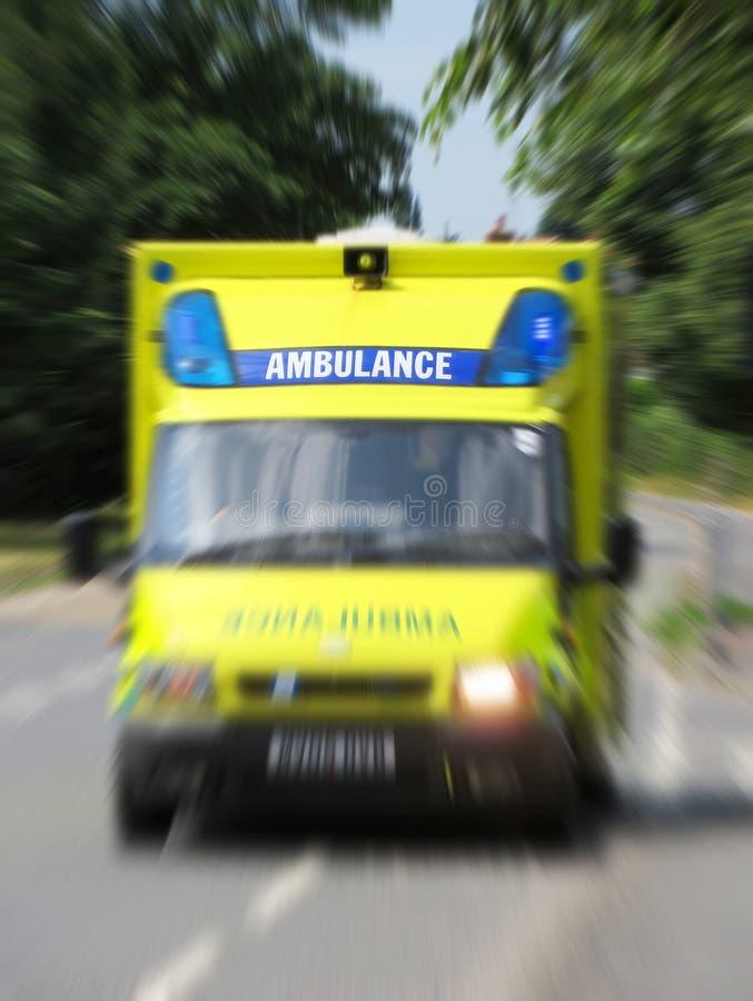Ambulancia de la emergencia fotos de archivo libres de regalías