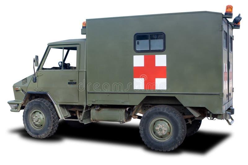 Ambulancia militar foto de archivo libre de regalías