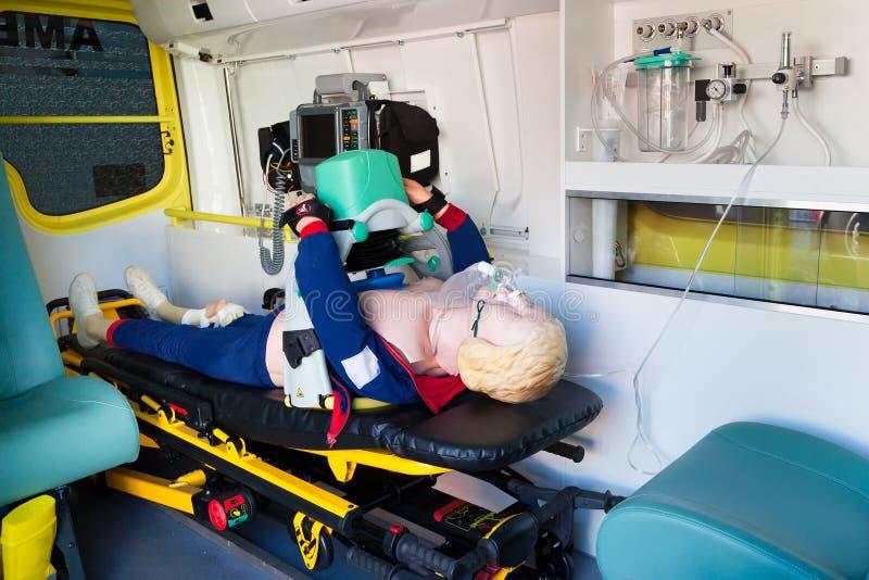 ambulans royaltyfria foton