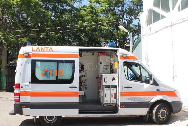 Ambulans Redaktionell Bild
