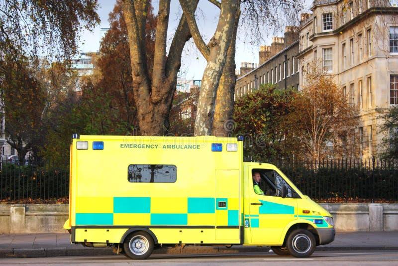 ambulans london royaltyfria foton
