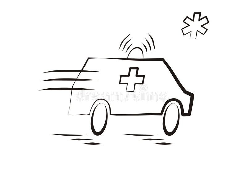 ambulans samochód obraz royalty free
