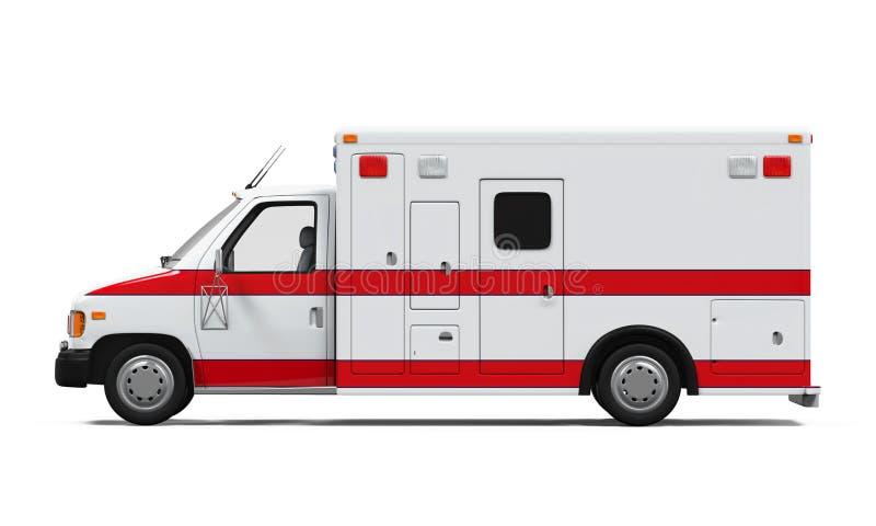 ambulansbileuropa germany munich vektor illustrationer