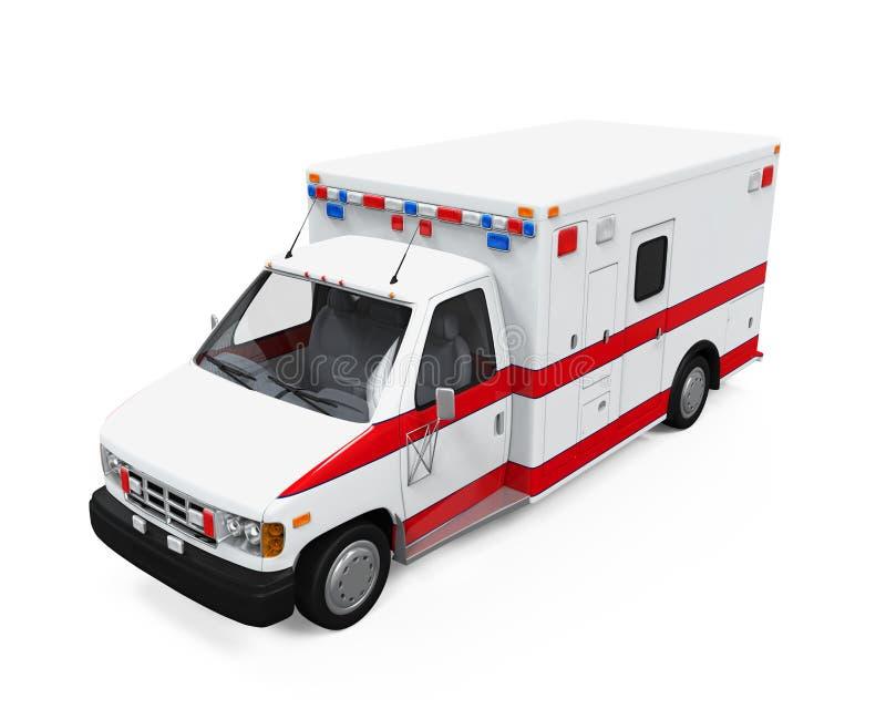 ambulansbileuropa germany munich royaltyfri illustrationer