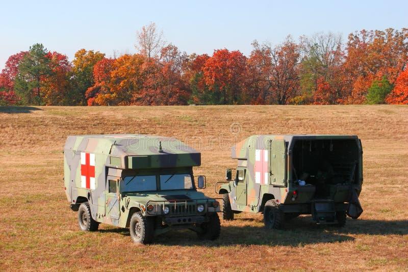 ambulanser två royaltyfri foto