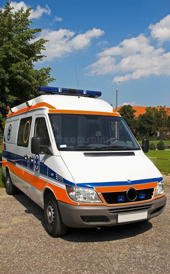 ambulansframdel arkivbilder