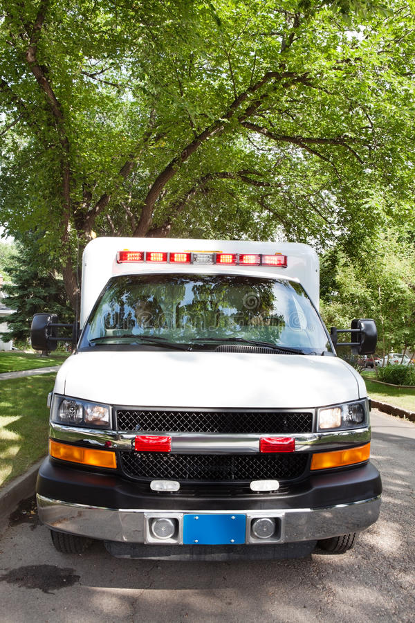 ambulansgata arkivbilder