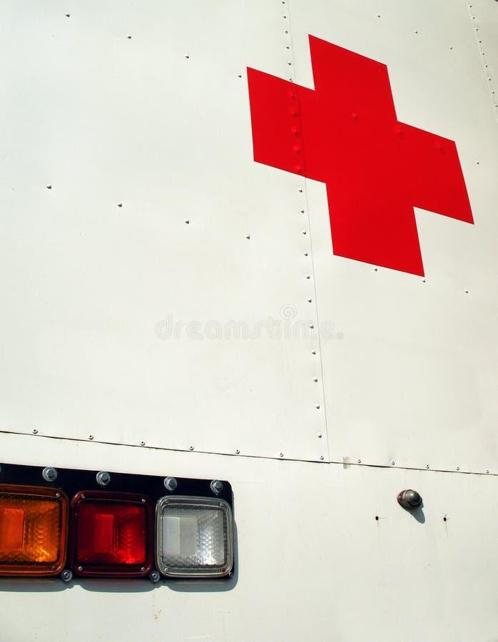 ambulansläkarundersökning royaltyfria foton