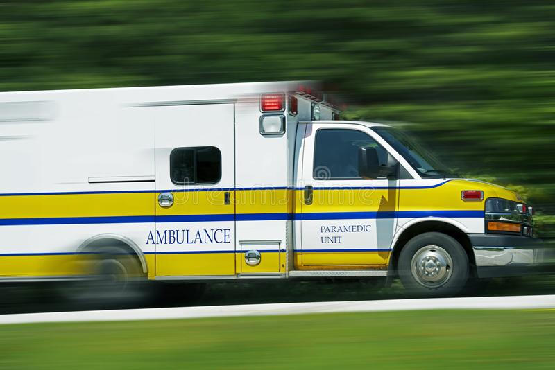 Ambulansowi sanitariuszi zdjęcia stock