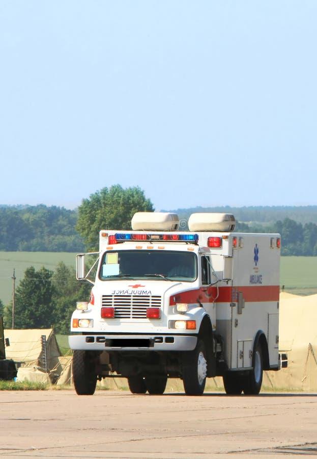 ambulansowy nagły wypadek fotografia royalty free