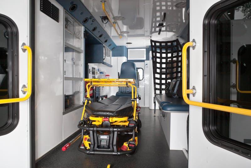 ambulansowy wnętrze fotografia royalty free