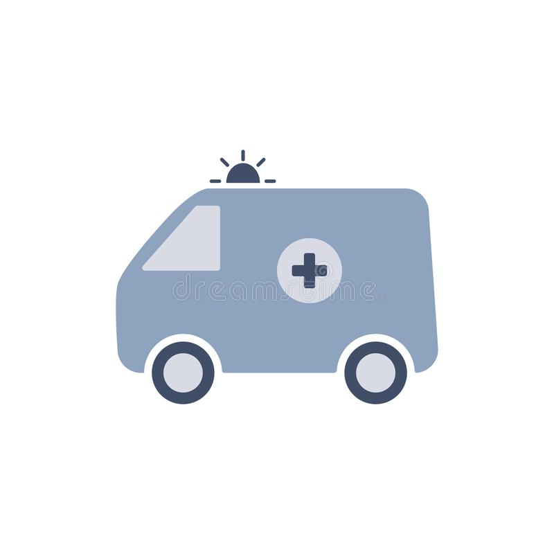 ambulant för svart ändringssymbolslever medicinsk för skydd white enkelt Isolerat på vit vektor royaltyfri illustrationer