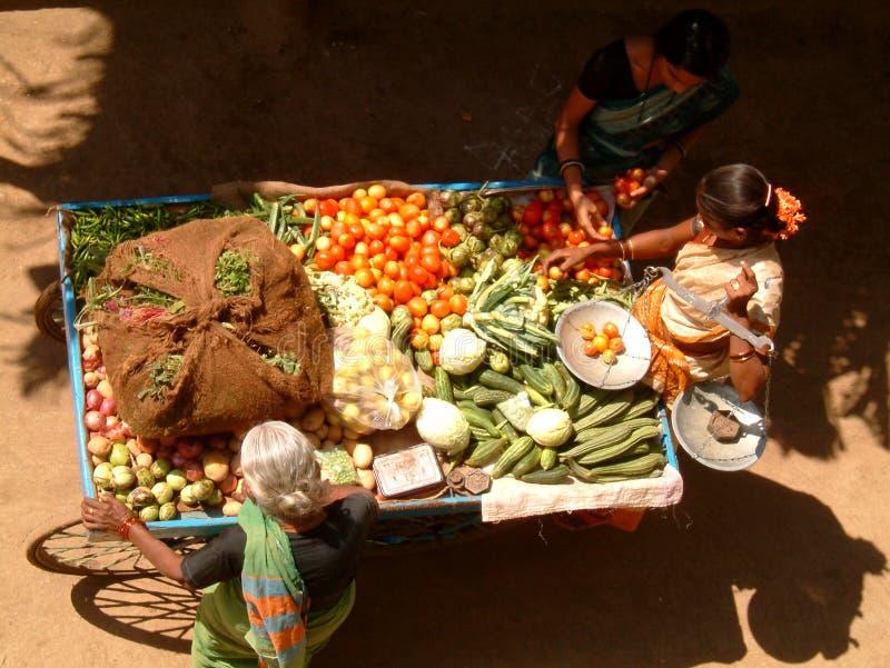 Ambulanter Gemüseströmungsabriß stockfotos