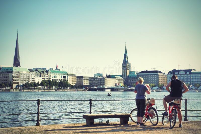 Amburgo fotografie stock libere da diritti