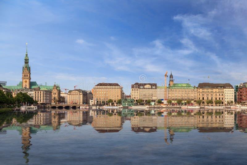 Amburgo Germania immagini stock libere da diritti