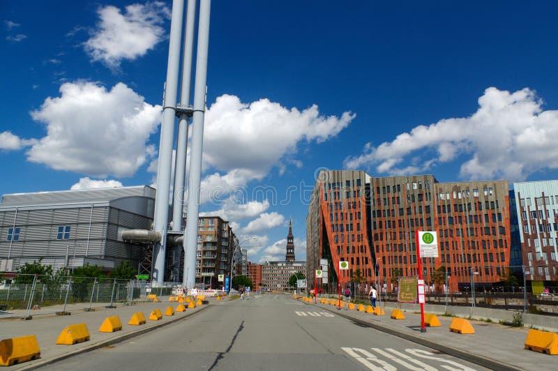 AMBURGO, GERMANIA - 18 LUGLIO 2015: nord famoso di Hafencity nello Speicherstadt a Amburgo fotografia stock