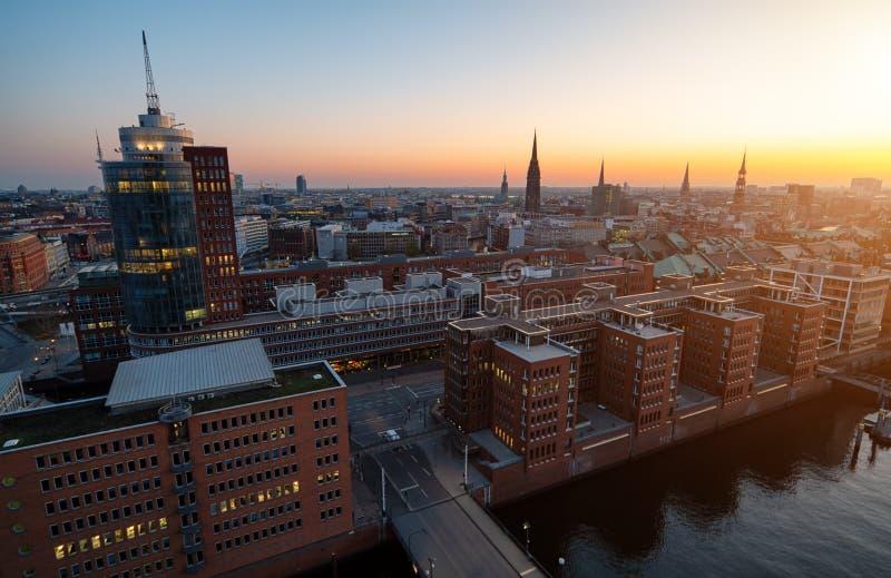 Amburgo Speicherstadt fotografia stock libera da diritti