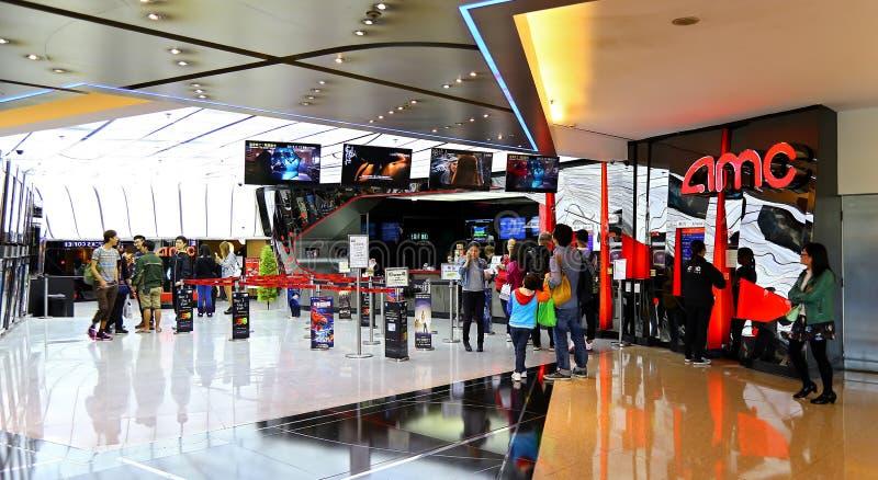 Amc电影院香港 库存图片