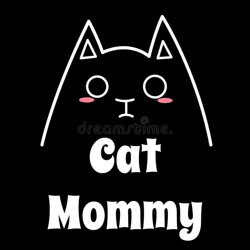 Ame a mi Cat Mommy fotos de archivo libres de regalías