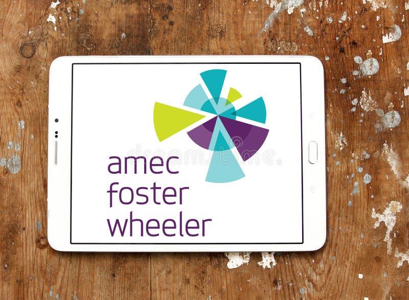 Amec bevordert Speculantadvies, het embleem van het techniekbedrijf royalty-vrije stock afbeelding