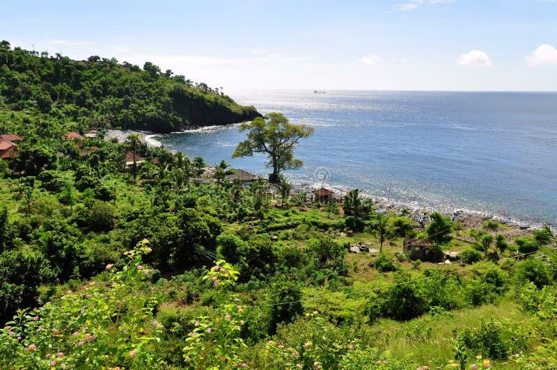 amed巴厘岛海湾 免版税库存照片