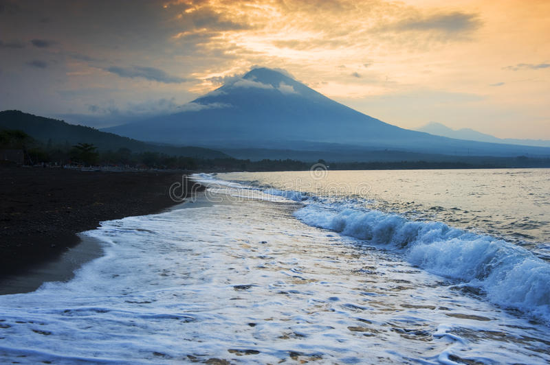 Amed, Bali, Indonesia. royalty free stock photo