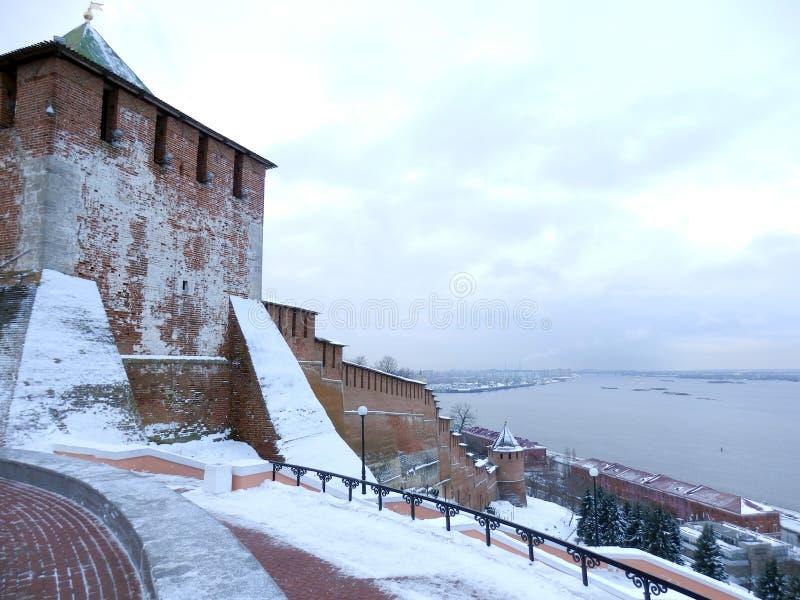 Ameias do Kremlin de Nijni Novgorod foto de stock royalty free