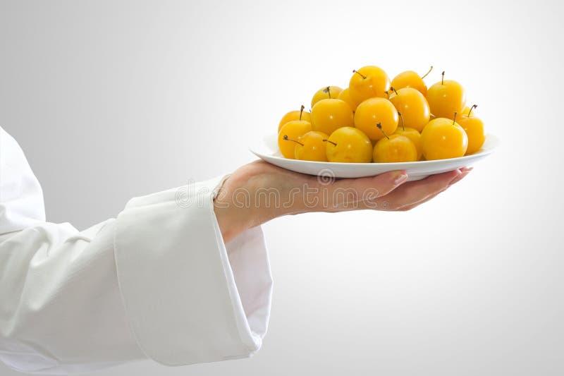 Download Ameixas amarelas imagem de stock. Imagem de dieta, doce - 10058621