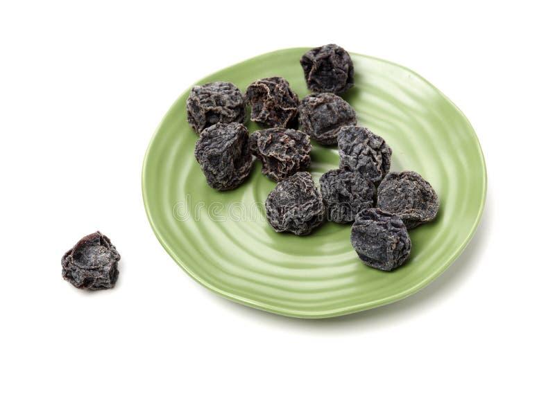 Ameixas pretas secadas imagens de stock royalty free
