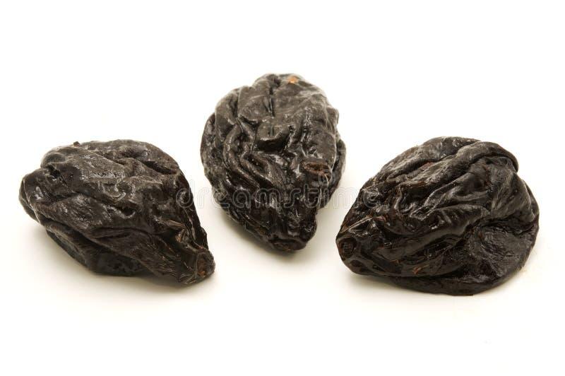 Ameixas secadas imagem de stock