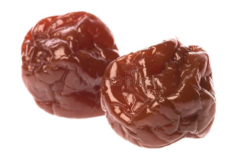 Ameixas Sweetened preservadas foto de stock royalty free