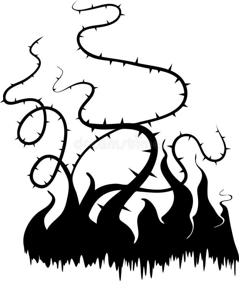 Ameixoeira-brava ilustração royalty free