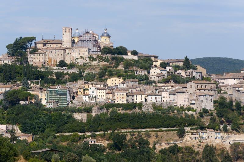 Amelia (Úmbria, Italy) - a cidade velha imagens de stock royalty free