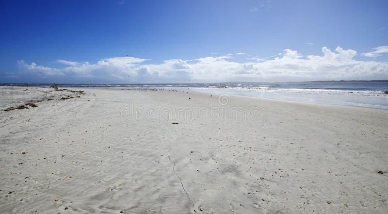 Amelia Island Florida, praia de Fernandina, Florida, EUA foto de stock