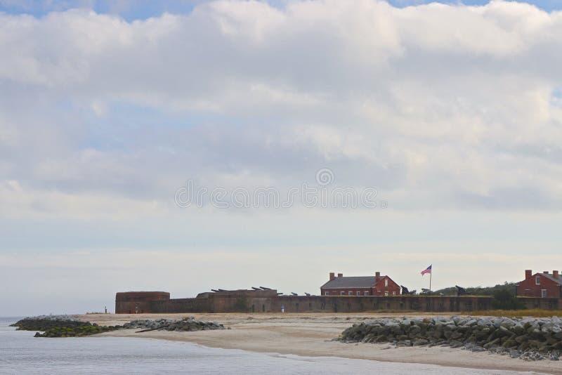 Amelia Island, Florida, USA: Fort Clinch royalty free stock photo