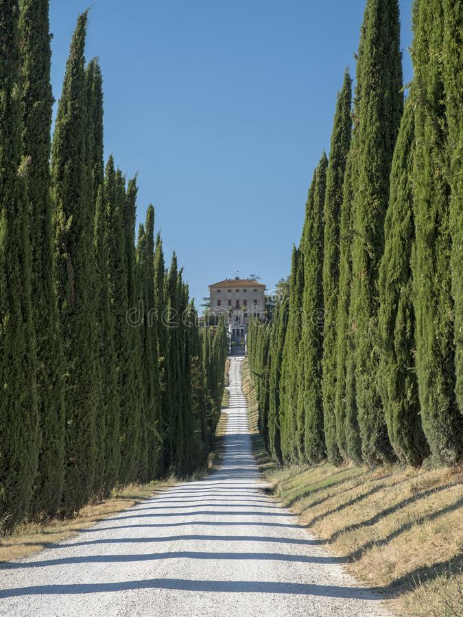 Amelia Umbria, Itália: Casa de campo Aspreta foto de stock royalty free