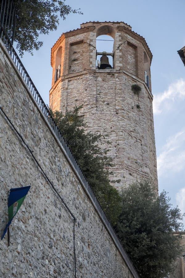 Amelia Umbria, Italia: città storica immagine stock